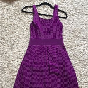 Purple cocktail dress beautiful for a night out